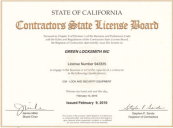 Certified Locksmith Irvine
